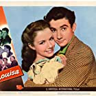 Piper Laurie, Ronald Reagan, Spring Byington, Charles Coburn, Scotty Beckett, Edmund Gwenn, and Ruth Hussey in Louisa (1950)
