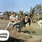 Horst Frank and Brad Harris in Die Diamantenhölle am Mekong (1964)