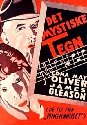 James Gleason and Edna May Oliver in Murder on the Blackboard (1934)