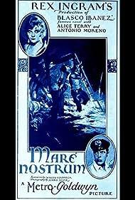 Antonio Moreno and Alice Terry in Mare Nostrum (1926)