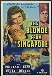 The Blonde from Singapore Poster