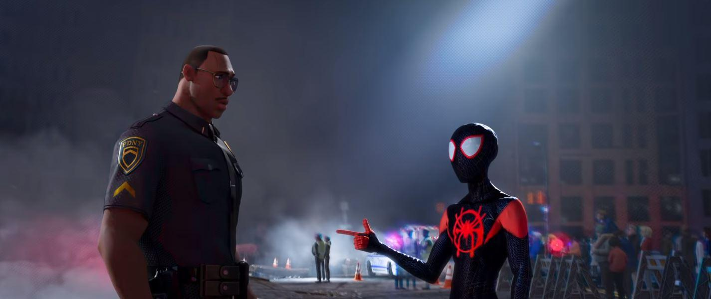 Brian Tyree Henry and Shameik Moore in Spider-Man: Into the Spider-Verse (2018)