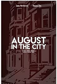 August in the City Poster