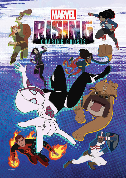 Marvel Rising: Chasing Ghosts (2019) WEBRip 720p