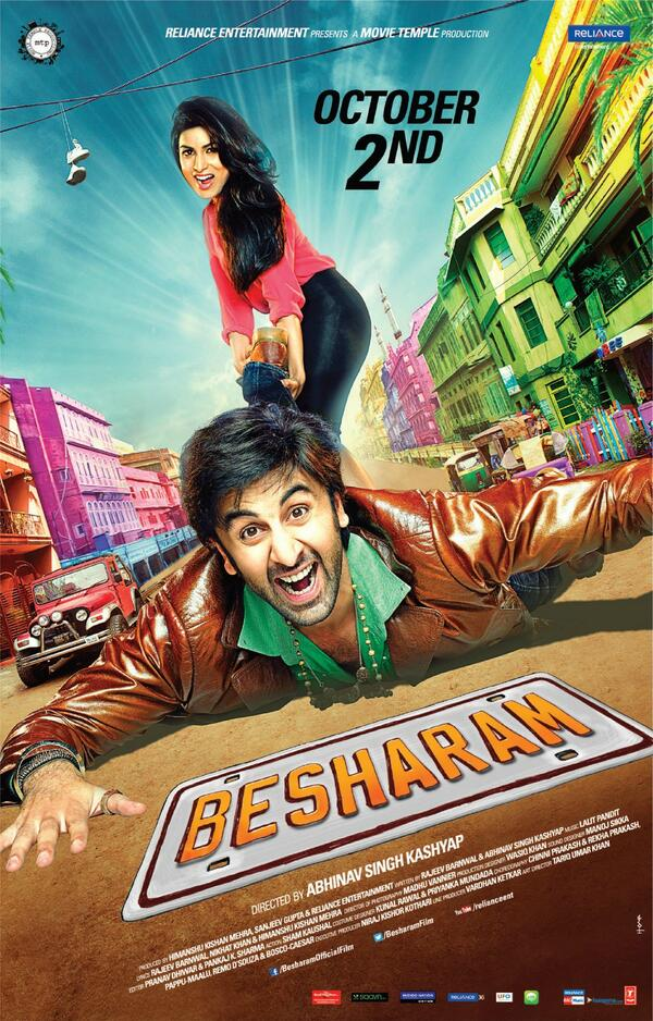 Besharam (2013) Hindi Movie 1080p HDRip 2.6GB Download