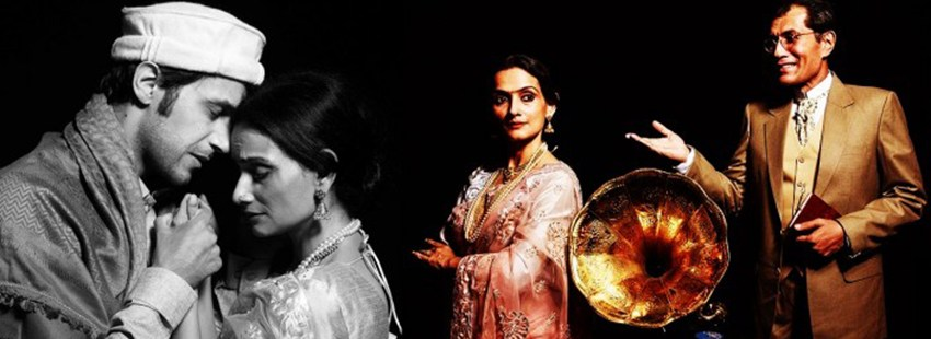 Some images from my play 'Gauhar'. Directed by Lillette Dubey.