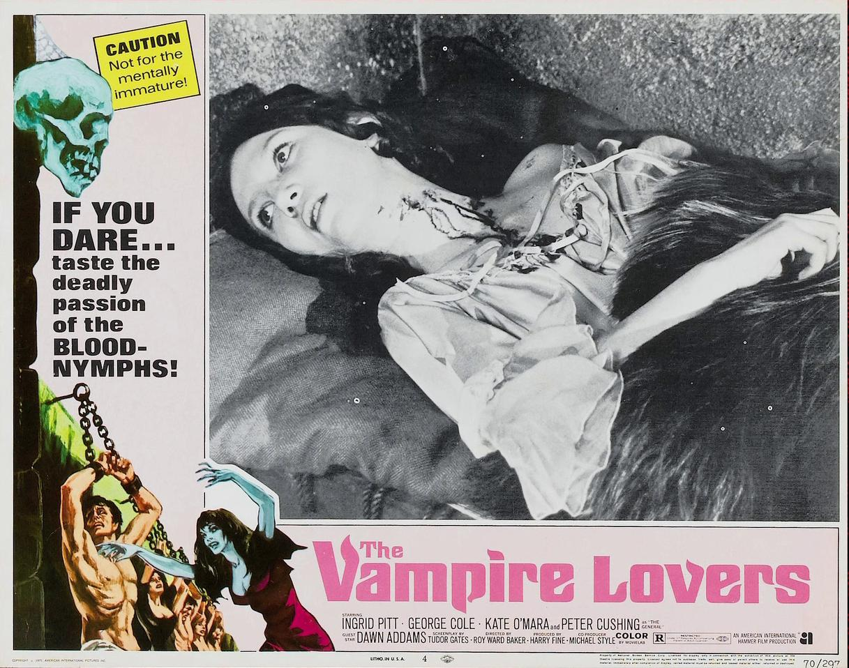 Joanna Shelley in The Vampire Lovers (1970)