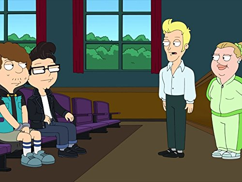 Curtis Armstrong and Scott Grimes in American Dad! (2005)