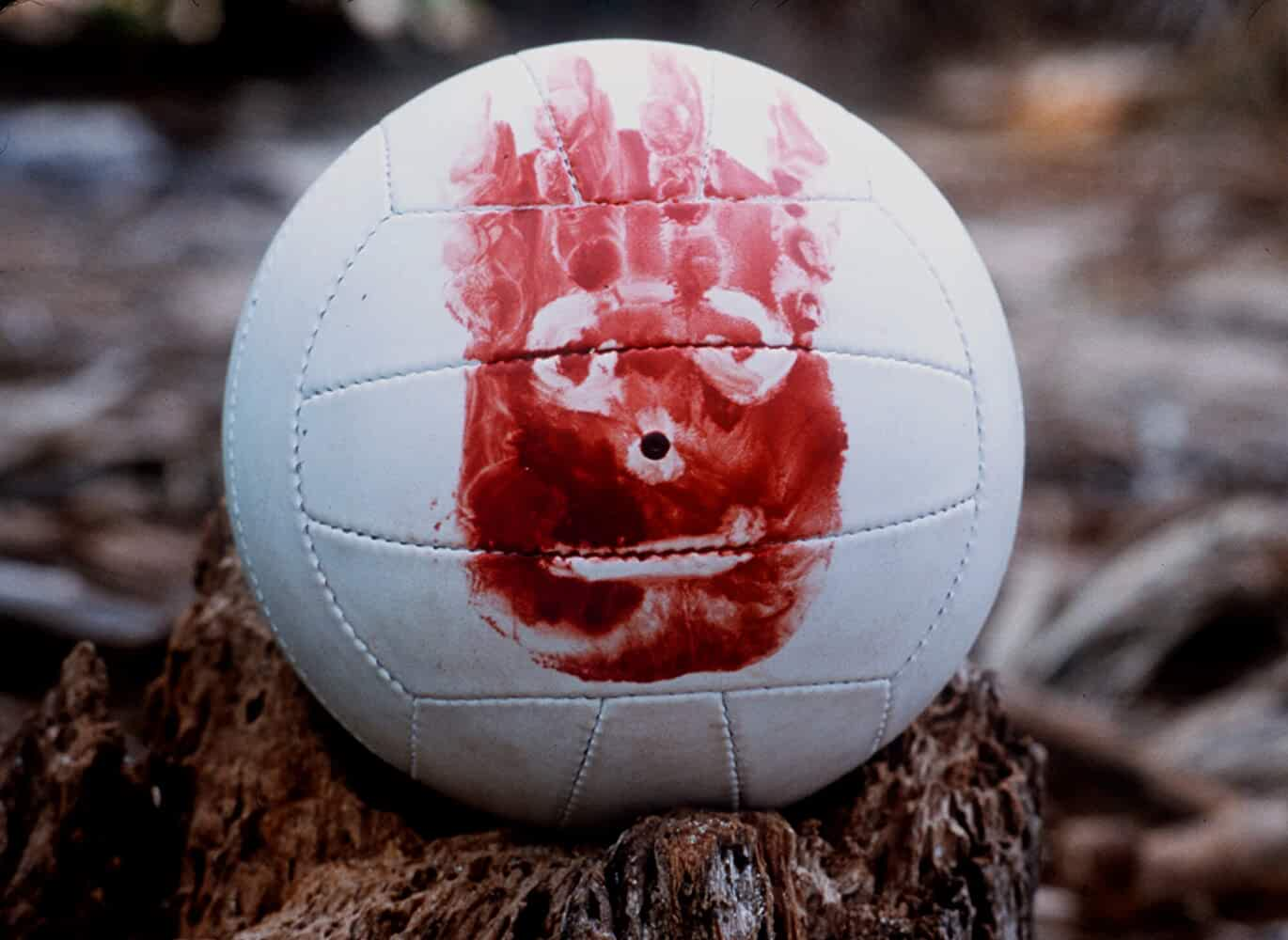 Wilson the Volleyball in Cast Away 2000