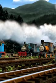 Thomas Works with the Logging Locos Poster