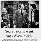 Marla Adams, Bernard Barrow, and Dan Hamilton in The Secret Storm (1954)