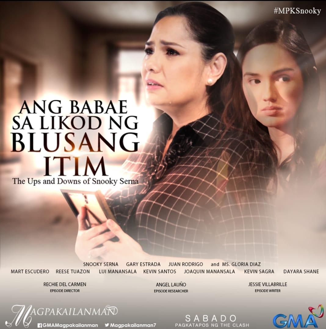Magpakailanman Ang Babae Sa Likod Ng Blusang Itim The Ups And Downs Of Snooky Serna Tv Episode 2018 Imdb