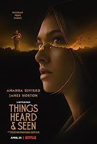 Amanda Seyfried, James Norton, and Ana Sophia Heger in Things Heard & Seen (2021)