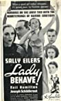 Lady Behave! (1937) Poster