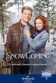Lindy Booth and Trevor Donovan in SnowComing (2019)