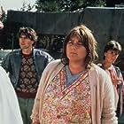 Nelly Frijda, René van 't Hof, Lou Landré, and Nani Lehnhausen in Flodder (1986)