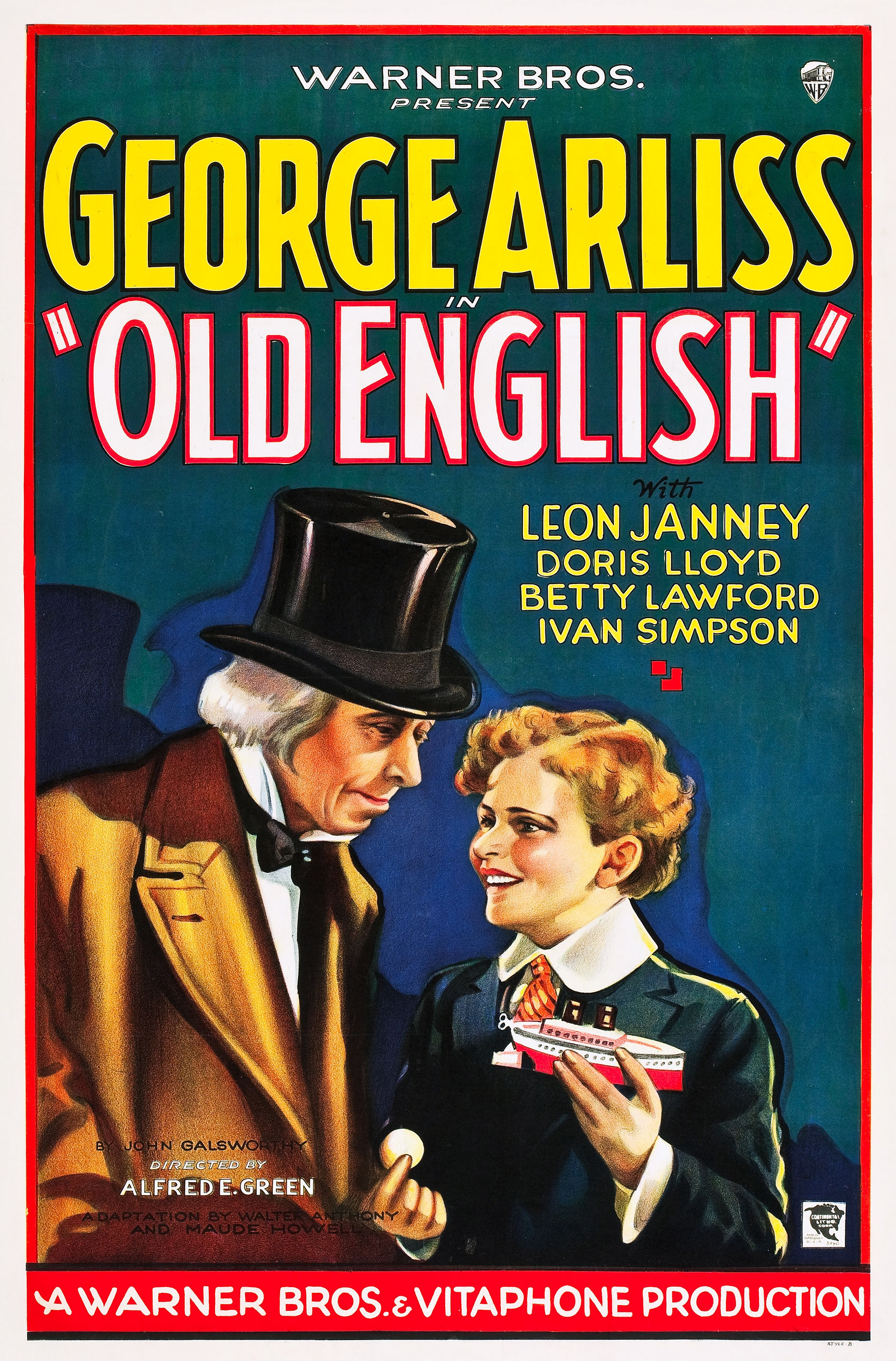 George Arliss and Leon Janney in Old English (1930)