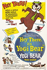Julie Bennett, Daws Butler, and Don Messick in Hey There, It's Yogi Bear (1964)