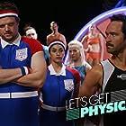 Chris Diamantopoulos, Matt Jones, and Misha Rasaiah in Let's Get Physical (2018)