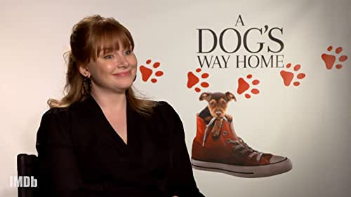 Bryce Dallas Howard Talks Shelby the Dog and Playing Non-Human Characters