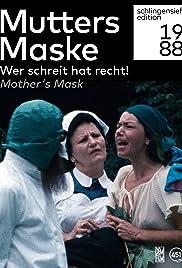 Mutters Maske Poster