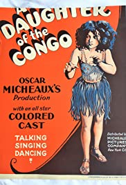 A Daughter of the Congo Poster