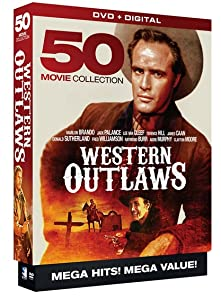Western Outlaws: 50 Movie MegaPack