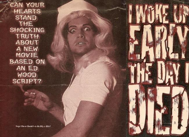 Billy Zane in I Woke Up Early the Day I Died (1998)