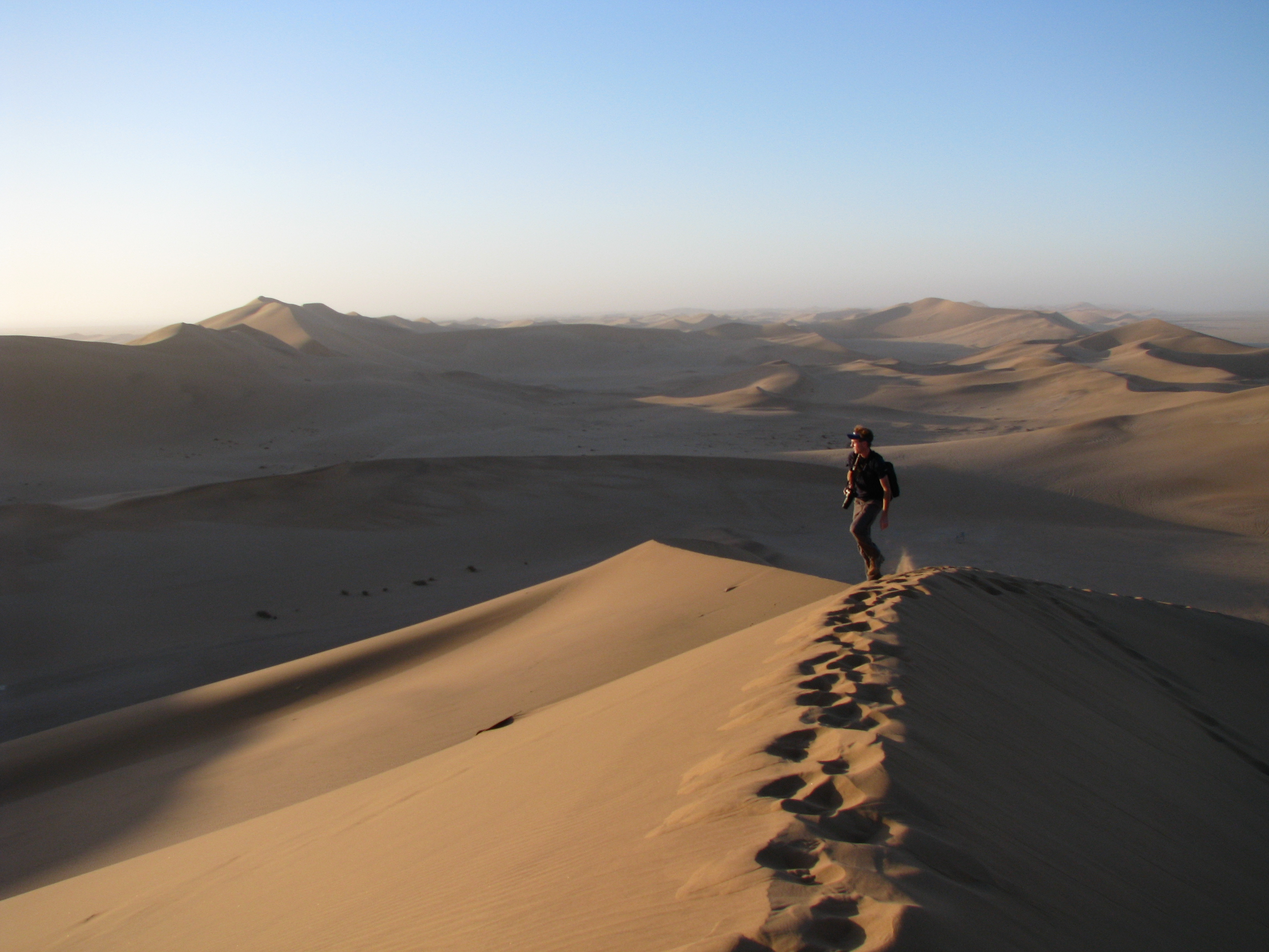 Skye Fitzgerald, Director - On location, Namibia