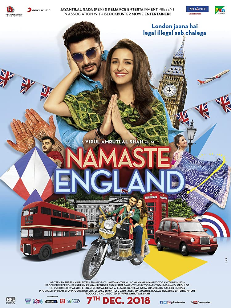 Namaste England 2018 Hindi PREDVDRip 700MB AAC MKV