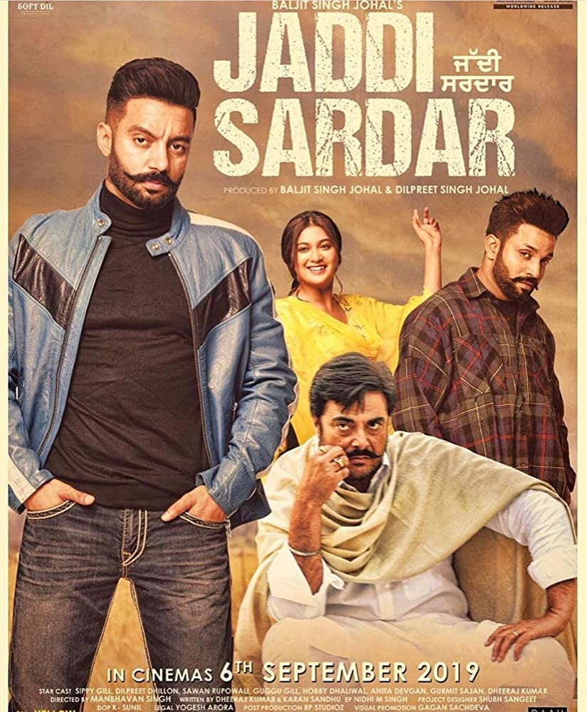 Jaddi Sardar 2019 Movie Punjabi WebRip 300mb 480p 1.2GB 720p