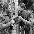 Spencer Tracy and Robert Young in 'Northwest Passage' (Book I -- Rogers' Rangers) (1940)
