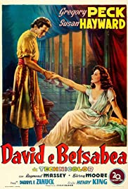 David and Bathsheba Poster