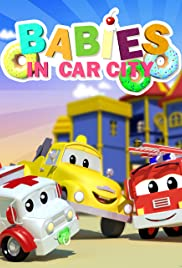 Babies in Car City Poster