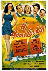 Vivian Austin, Marjorie Gateson, Betty Kean, Fuzzy Knight, and Eddie Quillan in Hi, Good Lookin'! (1944)