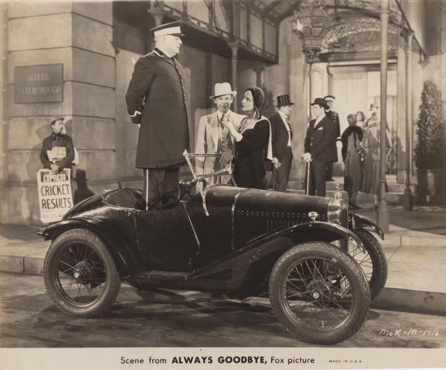 John Garrick and Elissa Landi in Always Goodbye (1931)
