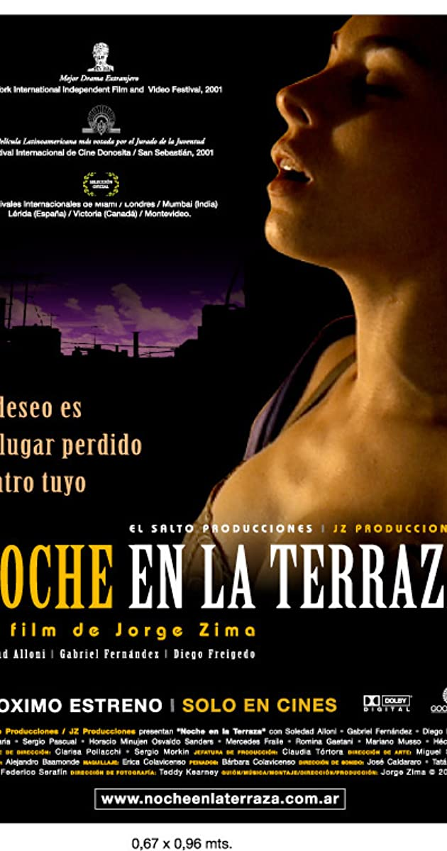 Noche En La Terraza 2002 Full Cast Crew Imdb