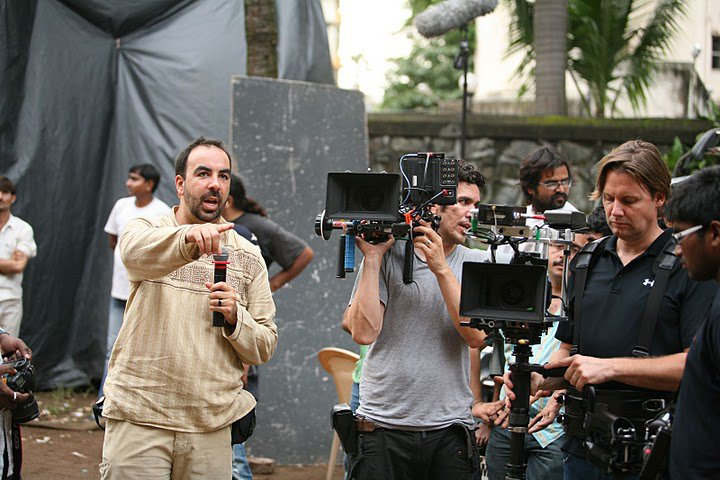 On the set of Not Today in India.
