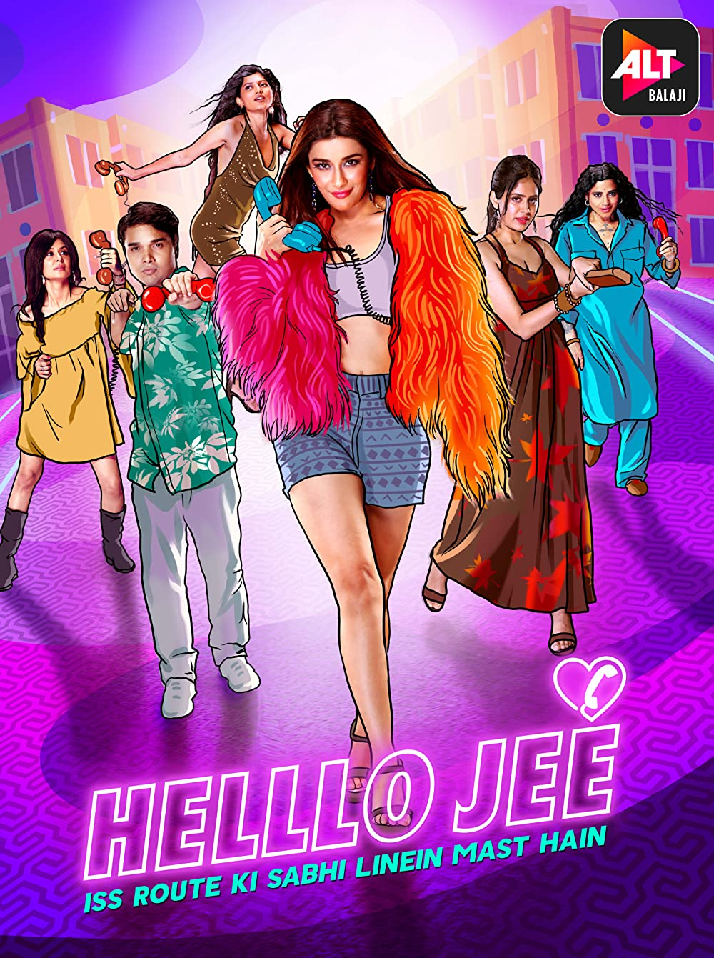 Helllo Jee Season 1 2021 Hindi ALTBalaji Original Web Series Official Trailer 1080p HDRip Download