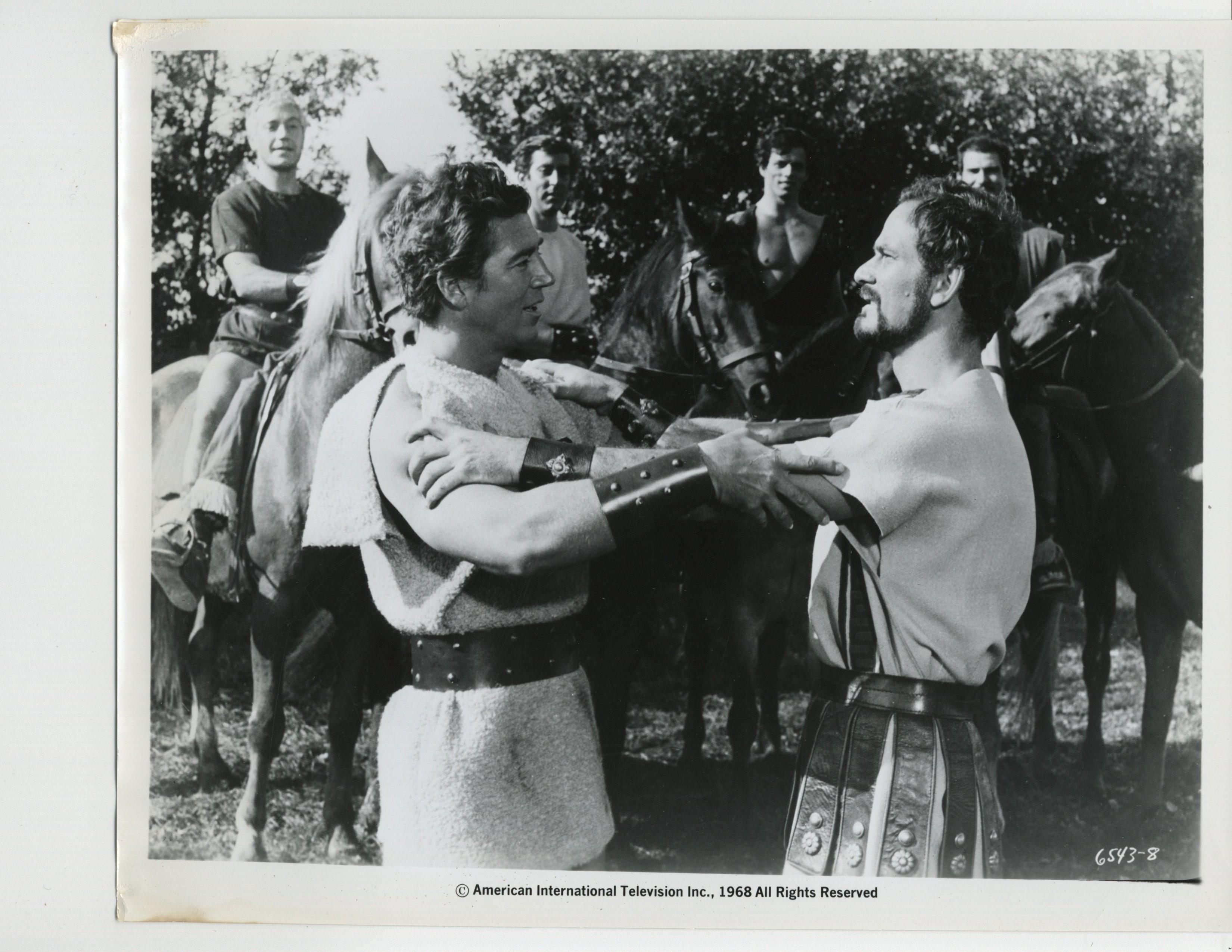 Mickey Hargitay in La vendetta dei gladiatori (1964)