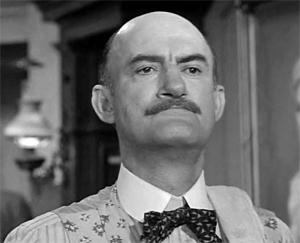 Dan Sheridan in Lawman (1958)