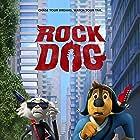 Luke Wilson and Eddie Izzard in Rock Dog (2016)