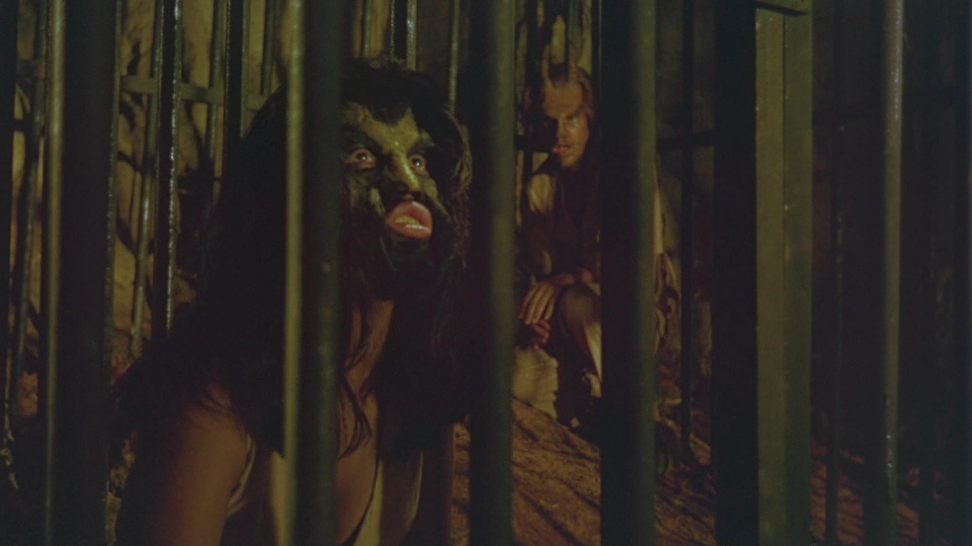 Ken Metcalfe and Mona Morena in The Twilight People (1972)