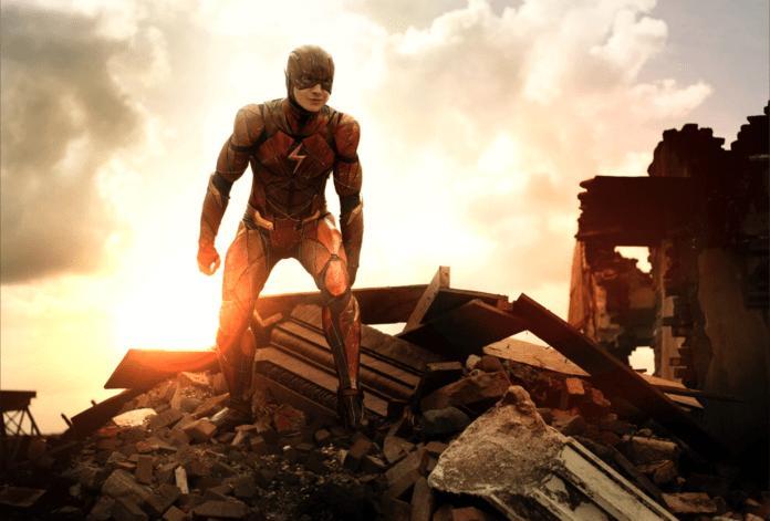 Ezra Miller in The Flash (2022) English Movie HDRip 700MB 720p ESubs at fzmovies4u.com