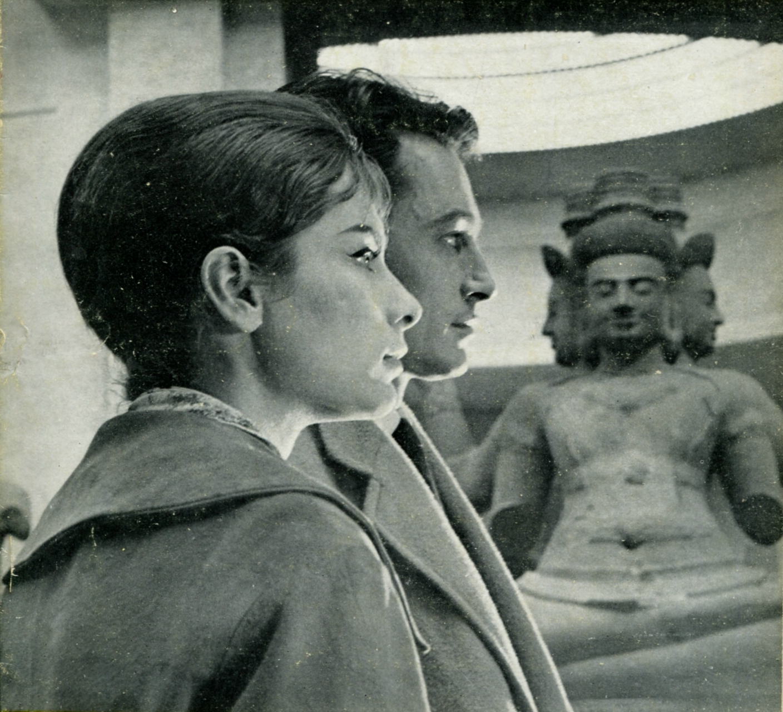 Jean Kosta and Juliette Mayniel in Un couple (1960)