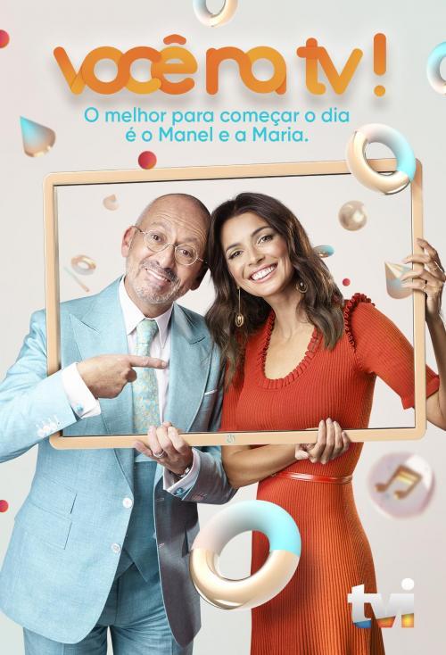 Maria Cerqueira Gomes and Manuel Luís Goucha in Você na TV! (2004)