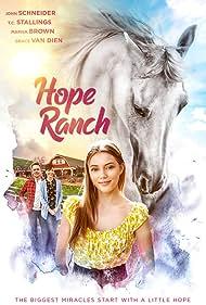 John Schneider, Marisa Brown, and Grace Van Dien in Riding Faith (2020)