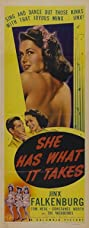 She Has What It Takes (1943) Poster