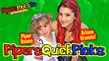Ariana Grande Talks Victorious and Dan Schneider with Piper Reese!!