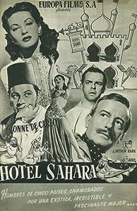 Movie old watching Hotel Sahara by Jean Delannoy [1280x544]